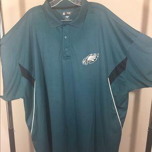 NFL Men's 4XL Philadelphia Eagles Polo Shirt